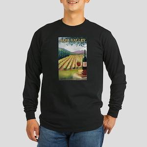 Napa Valley, California - Wine Country Long Sleeve