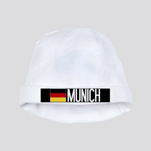 Germany: German Flag & Munich baby hat