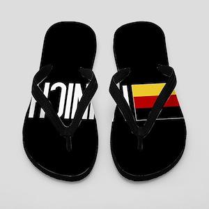 Germany: German Flag & Munich Flip Flops
