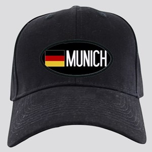 Germany: German Flag & Munich Black Cap