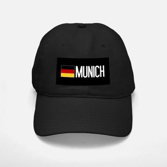 Germany: German Flag & Munich Baseball Hat