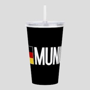 Germany: German Flag & Acrylic Double-wall Tumbler