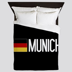 Germany: German Flag & Munich Queen Duvet