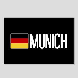 Germany: German Flag & Mu Postcards (Package of 8)