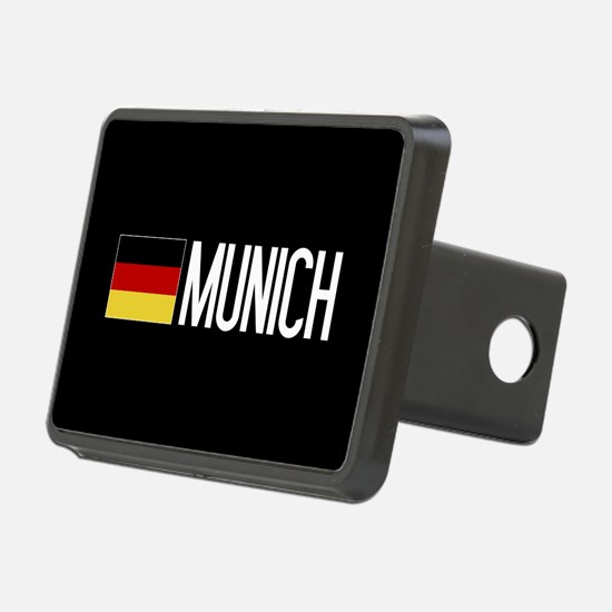 Germany: German Flag & Mun Hitch Cover