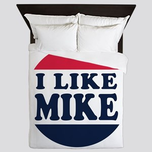 I Like Mike - Mike Pence for Vice Pres Queen Duvet