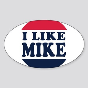 I Like Mike - Mike Pence for Vice P Sticker (Oval)