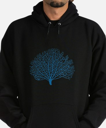 blue sea fan coral Sweatshirt