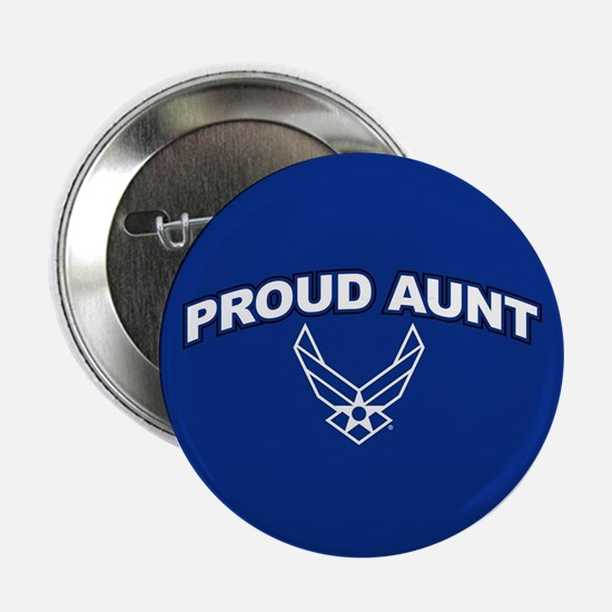 "U.S. Air Force Proud Aunt 2.25"" Button"