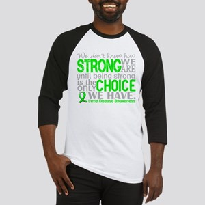 -Lyme Disease How Strong We Are 1D Baseball Jersey