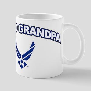 U.S. Air Force Proud Grandpa 11 oz Ceramic Mug