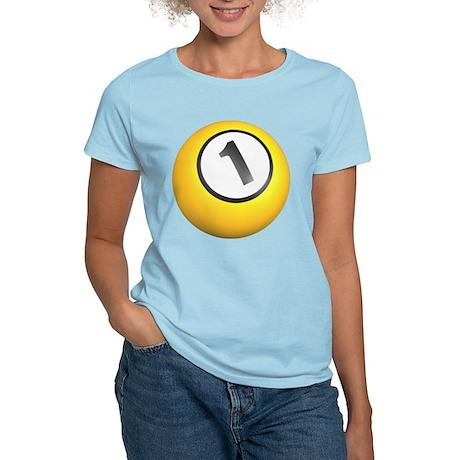 Billiards One Ball Women's Light T-Shirt