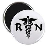 RN Medical Symbol Magnet