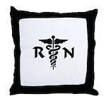 RN Medical Symbol Throw Pillow
