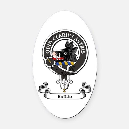 Badge - Baillie Oval Car Magnet