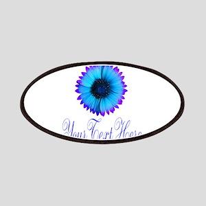 Fantasy Flower Blue Purple Patch