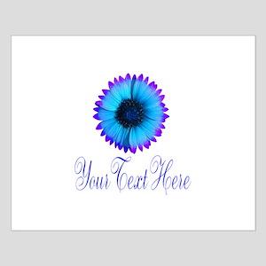 Fantasy Flower Blue Purple Posters
