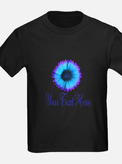 Fantasy Flower Blue Purple T-Shirt