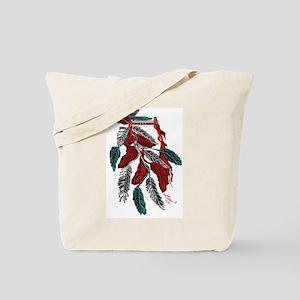 Headdress American Indian/tatoo art Tote Bag