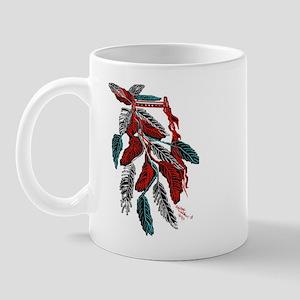 Headdress American Indian/tatoo art Mug