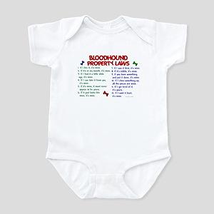 Bloodhound Property Laws 2 Infant Bodysuit