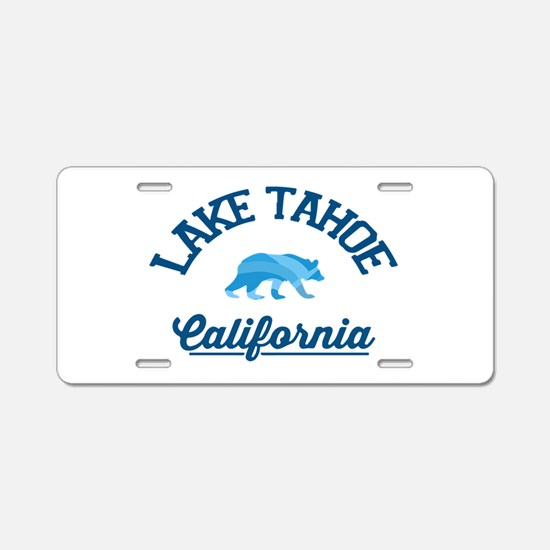 Lake Tahoe Aluminum License Plate