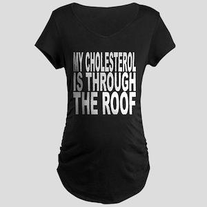 Cholesterol Maternity Dark T-Shirt