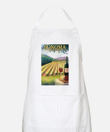 Sonoma County Wine Country Apron