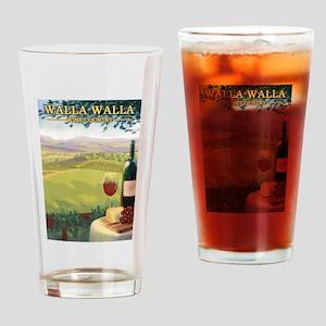 Walla Walla Wine Country Drinking Glass