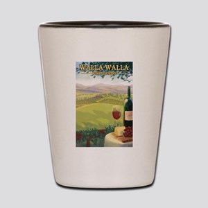 Walla Walla Wine Country Shot Glass