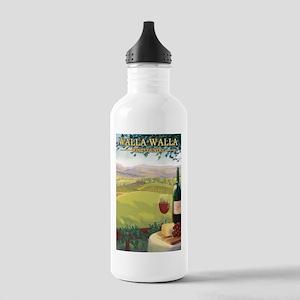 Walla Walla Wine Country Water Bottle