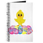 Easter Chick Custom Journal
