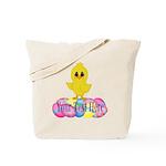 Easter Chick Custom Tote Bag