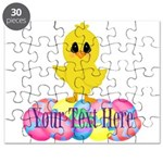 Easter Chick Custom Puzzle