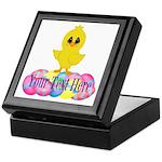 Easter Chick Custom Keepsake Box