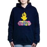 Easter Chick Custom Women's Hooded Sweatshirt