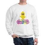 Easter Chick Custom Sweatshirt