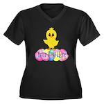 Easter Chick Custom Plus Size T-Shirt
