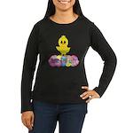 Easter Chick Custom Long Sleeve T-Shirt
