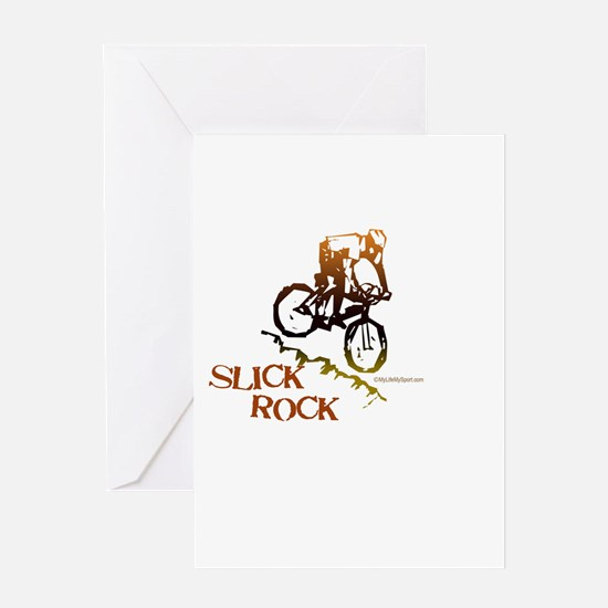 SLICK ROCK Greeting Card