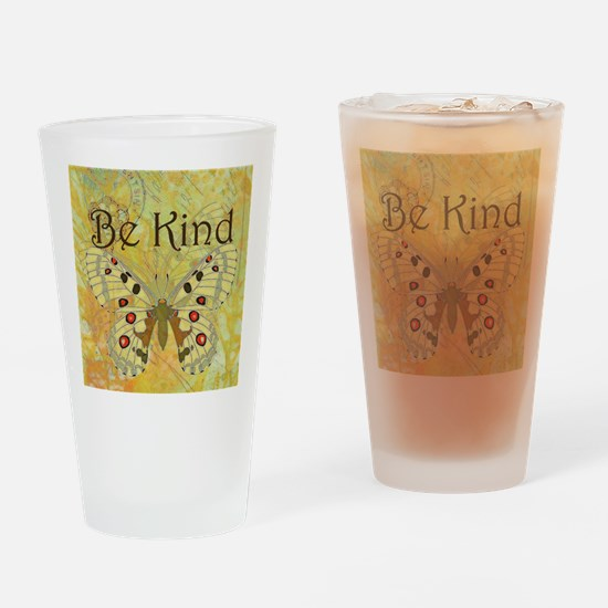 Be kind Drinking Glass