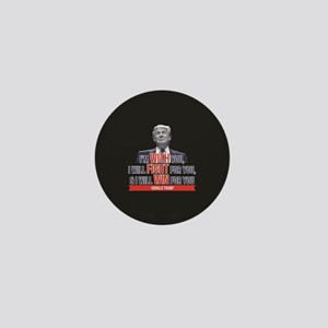 With Fight Win - Donald Trump Mini Button