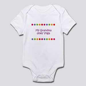 My Grandma does Yoga Infant Bodysuit