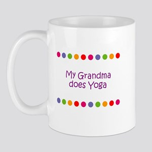 My Grandma does Yoga Mug