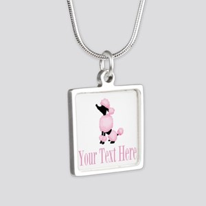 French Poodle Pink Necklaces