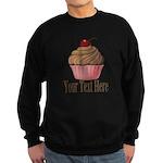 Pink Brown Cupcake Sweatshirt