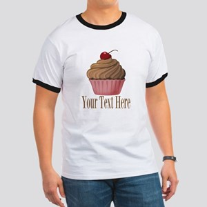 Pink Brown Cupcake T-Shirt