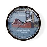 Lee A. Tregurtha Wall Clock