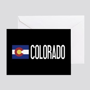 Colorado: Coloradan Flag & Colorado Greeting Card