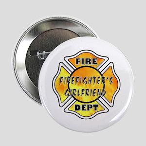 """Firefighters Girlfriend 2.25"""" Button"""
